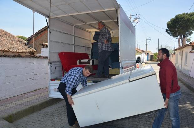 Şehzadeler Belediyesi 'Atma Paylaş' projesiyle yüzleri güldürüyor