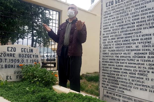 Ezo Gelin'in acı dolu hikayesi Ezo Gelin'in türkülere konu olan hayatı yazıtta aktarılıyor