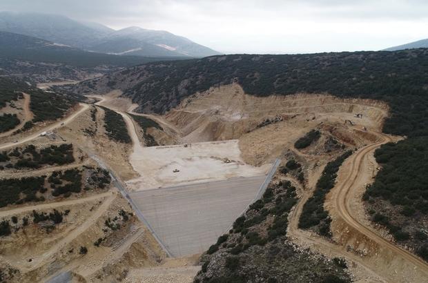 Isparta'da Akçay Barajı ile 22 bin dekar tarım arazisi suya kavuşacak
