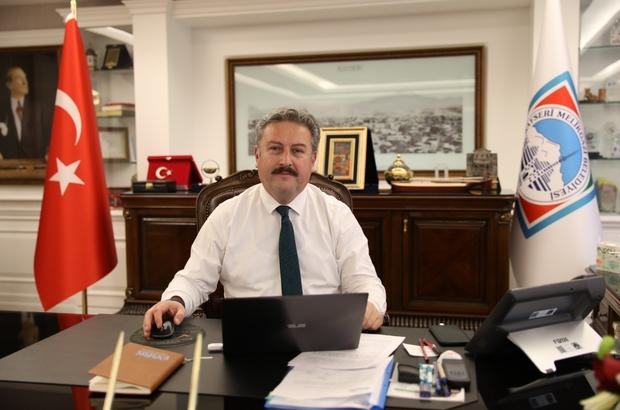 Başkan Dr. Palancıoğlu, Kayserili sporcu Ersin Tekal'ı tebrik etti