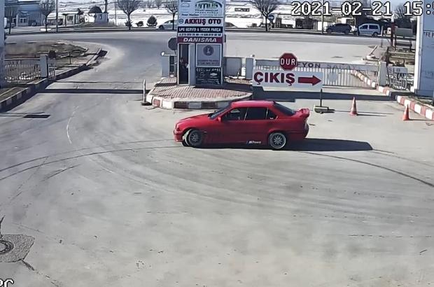 Kısıtlamada drift atan sürücüye 7 bin TL'ye yakın para cezası kesildi Trafik kurallarını hiçe sayarak drift atan sorumsuz sürücü güvenlik kameralarından tespit edildi
