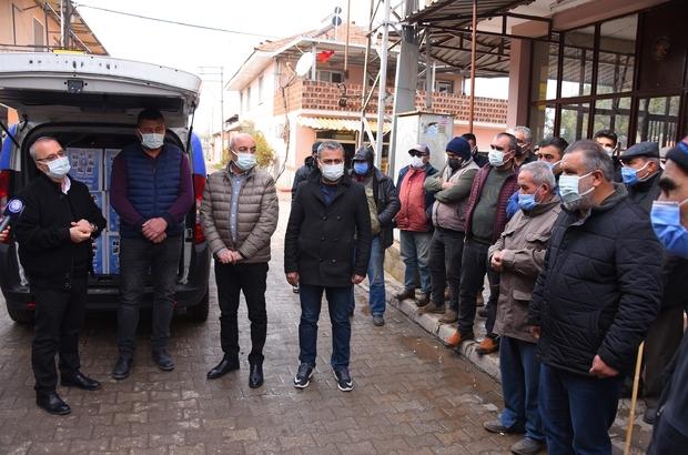 Salihli Belediyesi gıda paketi dağıtımlarına devam ediyor