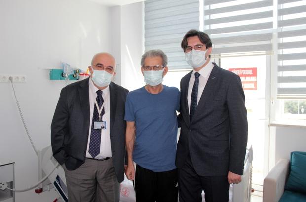 Muğla'da ilk organ nakli gerçekleşti Muğla Eğitim ve Araştırma Hastanesinde 60 yaşındaki Bodrumlu bir hastaya ilk organ nakli gerçekleştirildi. Hastane başhekimi Doç. Dr. Turhan Togan, nakil gecesi sabaha kadar ameliyat kapısında nöbet tuttuğunu açıkladı.