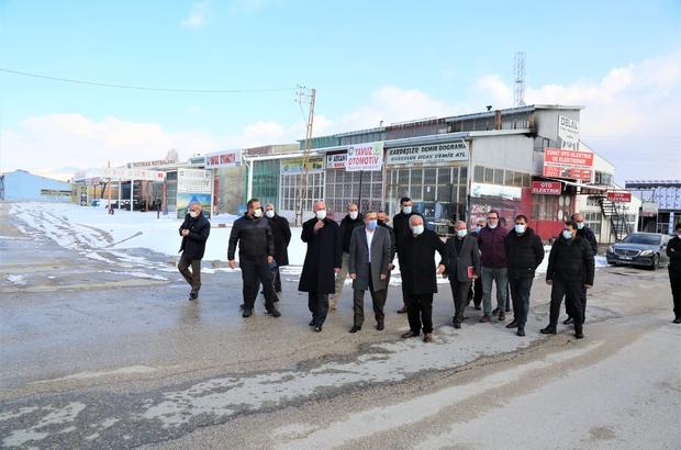 Milletvekili arvas ve belediye başkanı akman'dan sanayi sitesi esnafına  ziyaret - Van Haberleri