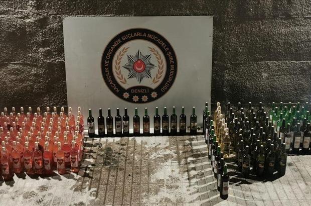 Denizli'de 8 alkol ve eşya kaçakçısı yakalandı