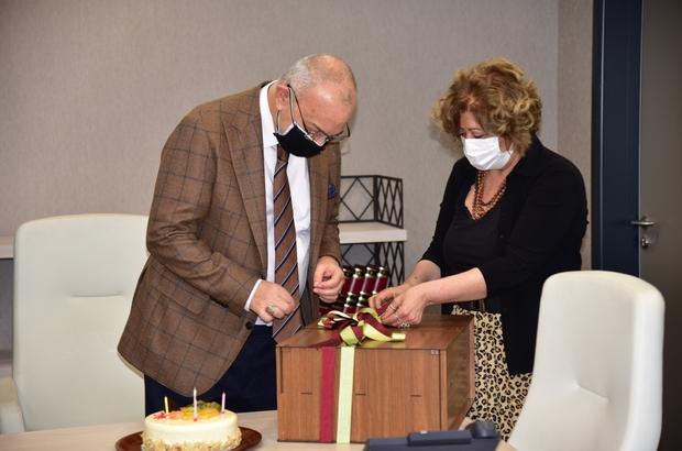 Başkan Ergün'e sürpriz doğum günü