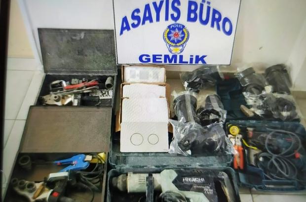 Bursa'da iki farklı hırsızlık olayının şüphelileri aynı anda yakalandı