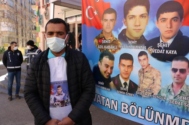 HDP önündeki aileler 540 gündür çocuklarından gelecek haberi bekliyor