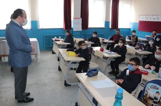 (Özel) Kırsal mahallelerde yüz yüze eğitim sevinci Kırsal mahallelerde okul hasreti sona erdi