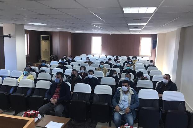 Tarsus'ta çiftçilere drone ile eğitim