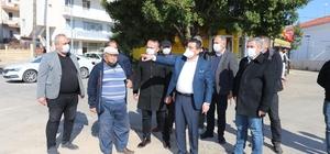 Kepez Belediye Başkanı Tütüncü, taksici esnafı ile buluştu Kepez Belediyesi pandemi sürecinde ilçedeki taksi duraklarını bin 521, taksileri ise 24 bin 180 kez dezenfekte etti