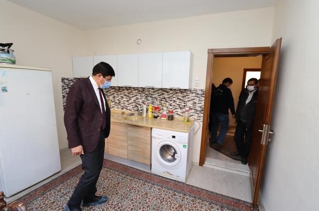 Başkan Özcan, diyabet hastası kadın ve çocuklarına sahip çıktı