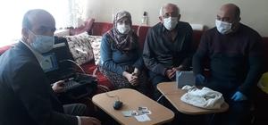 Korkuteli'de, engelli ve yaşlı bireylerin çipli kimlik kartı almasına kolaylık
