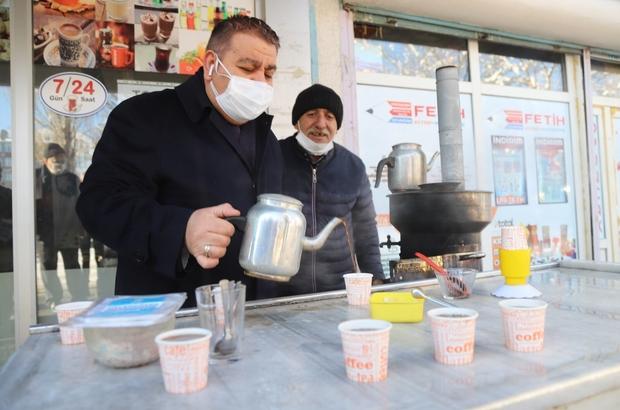Çaylar Başkan Sunar'dan Sunar gençlerle Erzurum Salgın sürecini konuştu