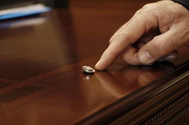"""Başkanının odasında dinleme cihazı bulundu Başkan Kepenek; """"Bunlar FETÖ'den öğrendiğiniz yöntemler"""""""