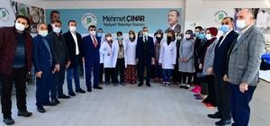 """Başkan Çınar, tekstil kursunu ziyaret etti Çınar: """"Kadınlarımızın milli ekonomiye olan katkısını artırıyoruz"""""""