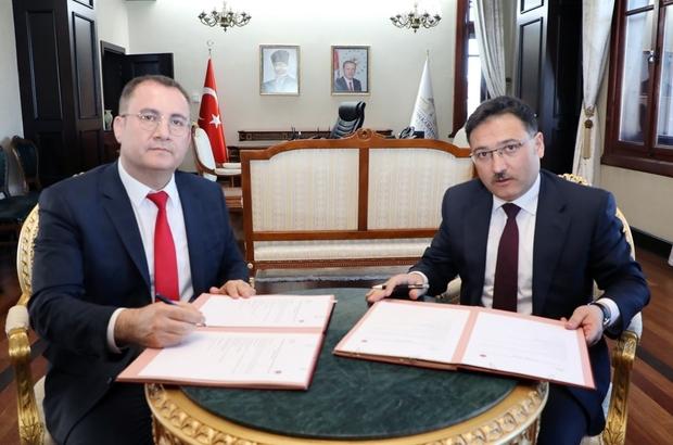 """İzmir Yüksek Teknoloji Enstitüsü ile Afyonkarahisar Valiliği arasında protokol imzalandı Vali Gökmen Çiçek: """"Afyonkarahisar'ımızı bambaşka bir noktaya taşıyacağız"""""""