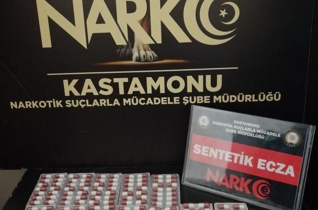 Kastamonu'da uyuşturucu operasyonu: 1 gözaltı