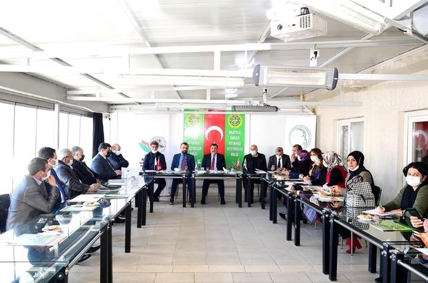 """Gürkan: """"Hayvancılığın ve tarımın önemi bir kez daha öne çıktı"""" Başkan Gürkan, Tarım Platformu İstişare Toplantısı'na katıldı"""