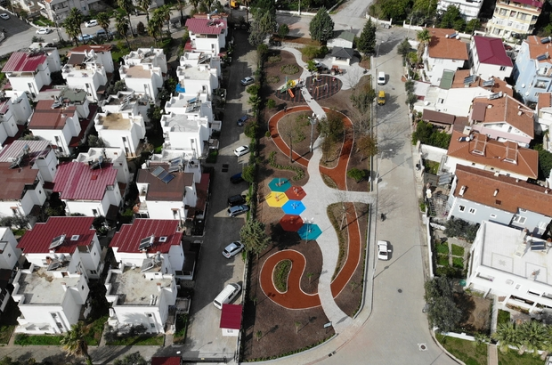 Marmaris Zübeyde Hanım Parkı yenilendi