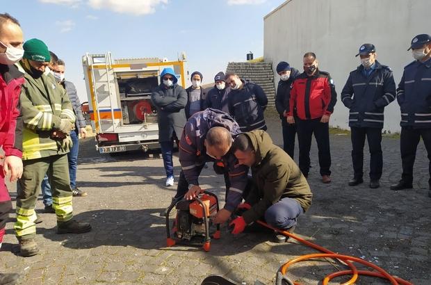 ŞAHKUT ekibi arama kurtarma görevlerine hazır