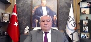 ATSO Başkanı Davut Çetin: 20 gün seferberlik ilan edelim