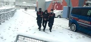 Ateşli silah ve mermileri ülkeye sokmaktan aranan şahıs yakalandı