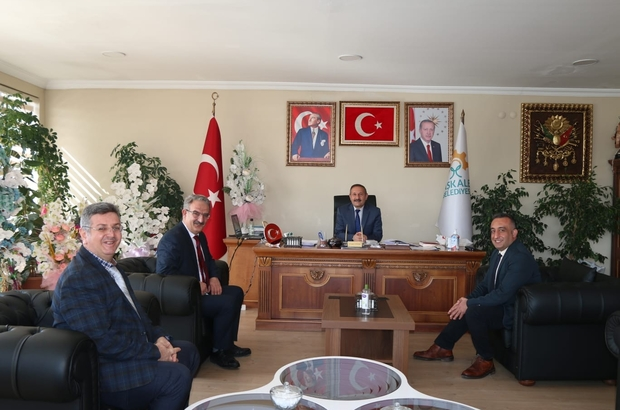 Mal Müdürü Ünsal'dan Başkan Yaptırmış'a ziyaret
