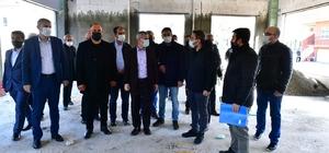 Yeşilyurt Belediyesi Gündüzbey sosyal tesislerinin kaba inşaatı tamamlandı