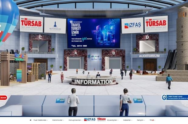 """Türkiye'nin ilk sanal turizm fuarı açıldı Kültür ve Turizm Bakanı Ersoy: """"Bugüne kadar 7 bin 800 tesisin Güvenli Turizm Sertifikası aldı"""""""