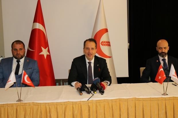 """Fatih Erbakan: """"Yüz yıllar boyunca alimler, hocalar yetiştiren bu topraklar çatışmanın değil, huzur ve barışın merkezi olacaktır"""""""
