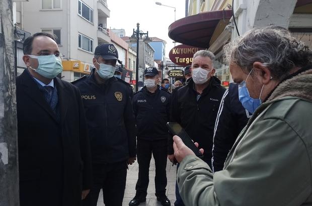 Vakaların artış gösterdiği Bafra'da denetimler sıklaştırıldı