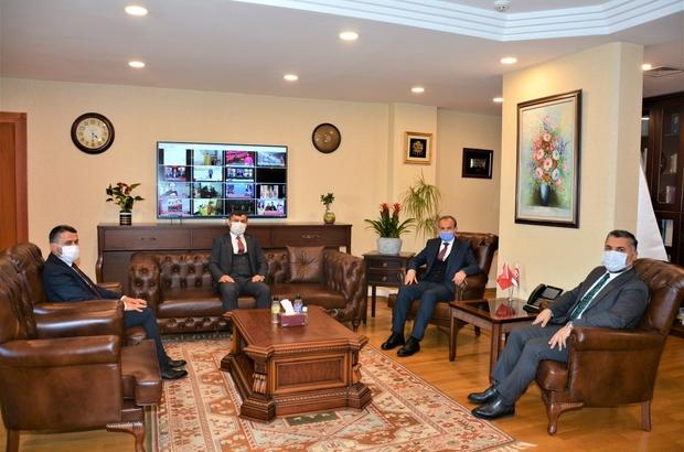 Kılınç, RTÜK Başkanı Şahin ile yerel basının sorunlarını konuştu