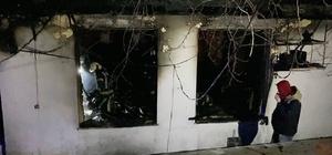 Kapalı restoranda ısınmak için yakılan soba patladı: 3 ölü Alevlerin sardığı restorandan çıkamayan 3 kişi yanarak can verdi