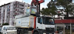 Edremit'te yeni nesil çöp toplama dönemi Yeni nesil konteynerler ile daha temiz bir Edremit