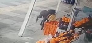 Gerçek güvenlik kamerasında ortaya çıktı Sokak köpeği her sabah mahallenin marketinden bir ekmeği alıyor