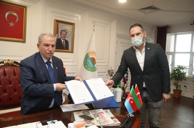 Gençlere Avrupa kapılarını açacak proje imzalandı Başkan Demirtaş, istihdama nitelikli eleman yetiştirecek iş protokolünü imzaladı
