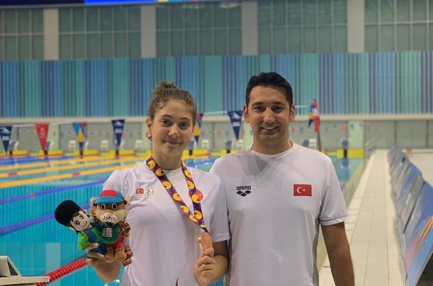 Eskişehirli yüzücü Sudem'den yeni başarılar 16 yaşındaki yüzücüden 25'inci rekor