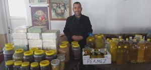 Kapanan kahvehanesinde zeytin ürünleri satmaya başladı