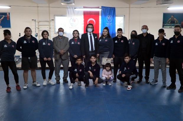 Isparta Belediyesi Spor Kulübü haltercilerinin hedefi Gençler Dünya Şampiyonası