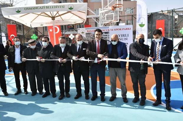 Osmangazi yeni parklar ile nefes alıyor Bursa'nın yeşiline Osmangazi katkısı