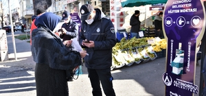 Pazar yerlerinde Kovid-19 denetimleri arttırıldı