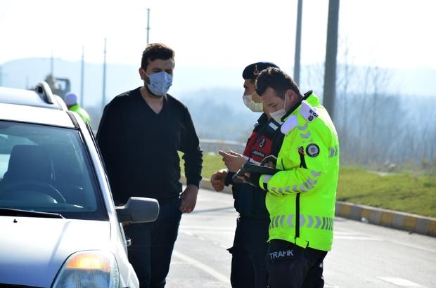 Vakalar arttı, denetimler sıklaştırıldı Polis ve jandarmadan ortak denetim