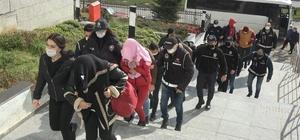 ATM'lere sahte para yükleyen ve 1 milyonluk vurgun yapan 9 kişi tutuklandı