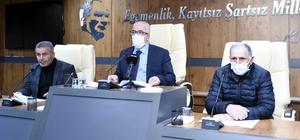 Tekkeköy'de günde 200'den fazla aileye yiyecek yardımı Tekkeköy Belediye Meclisi Aşevi için şartlı bağışın önü açıldı