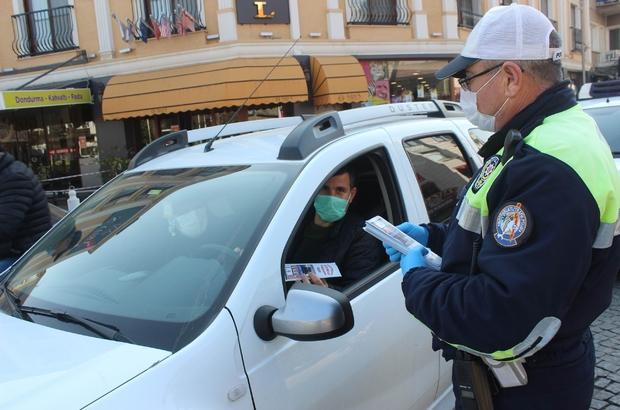 Salihli emniyetinden sürücülere emniyet kemeri uyarısı