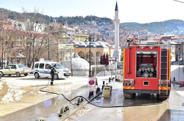 Kastamonu'da bahar temizliği başladı