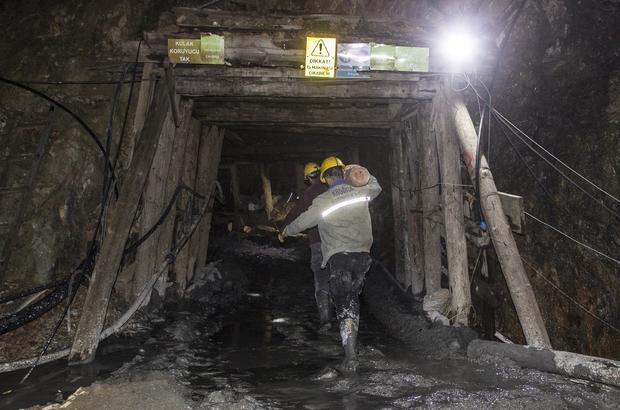 Çanakkale'de madende göçük altında kalan işçiyi arama çalışmaları sürüyor