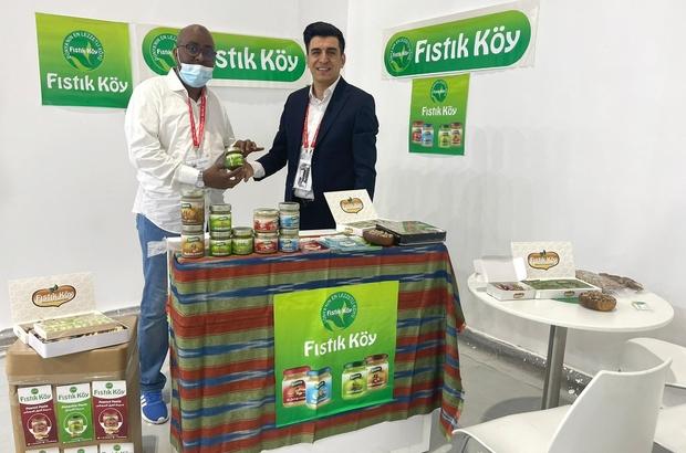 Dubai'de Türk rüzgarı Dubai'de düzenlenen dünyanın en büyük gıda fuarı Gulfood 2021'e Gaziantep'in gözde firması Fıstıkköy damga vurdu