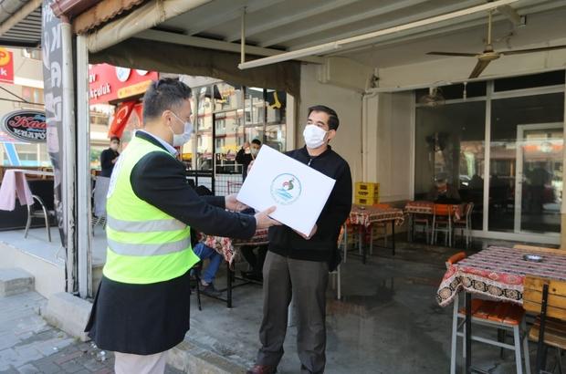 """Pamukkale Belediyesi 600 kıraathaneye destek paketi dağıttı Başkan Örki; """"Destek paketlerimizi esnaflarımızla buluşturuyoruz"""""""